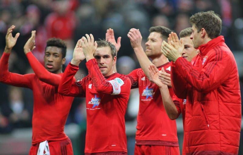 FC Beieren Muenchen v FC Ingolstadt - Bundesliga stock afbeelding