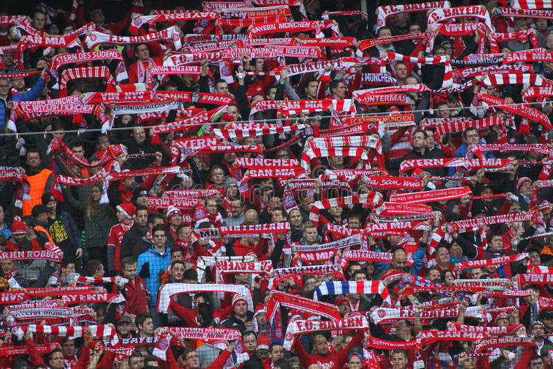 FC Beieren Muenchen v FC Ingolstadt - Bundesliga royalty-vrije stock foto's