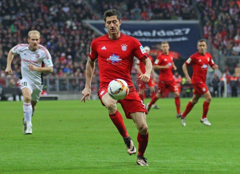 FC Beieren Muenchen v FC Ingolstadt - Bundesliga stock afbeeldingen