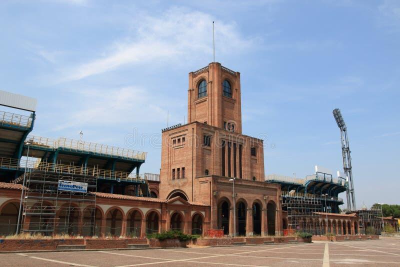 FC-Bolognastadion fotografering för bildbyråer