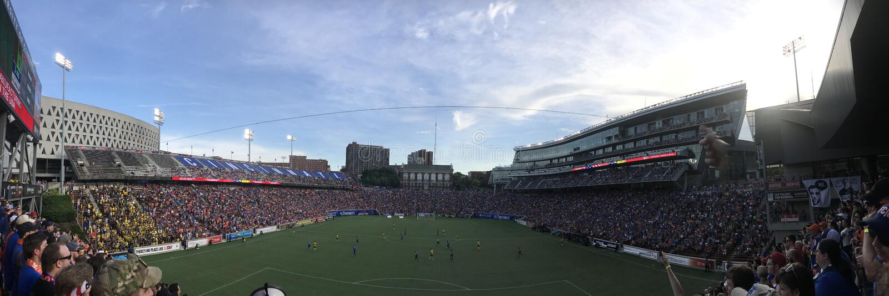 FC Cincinnati royaltyfri fotografi