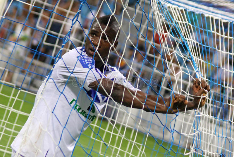 Download FC Dynamo Kyiv's Striker Brown Ideye Editorial Image - Image of moment, nigerian: 20434310