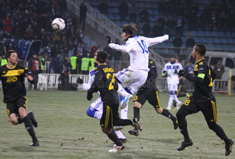Download FC Dynamo Kyiv Vs Sheriff Tiraspol Editorial Photo - Image: 17553211