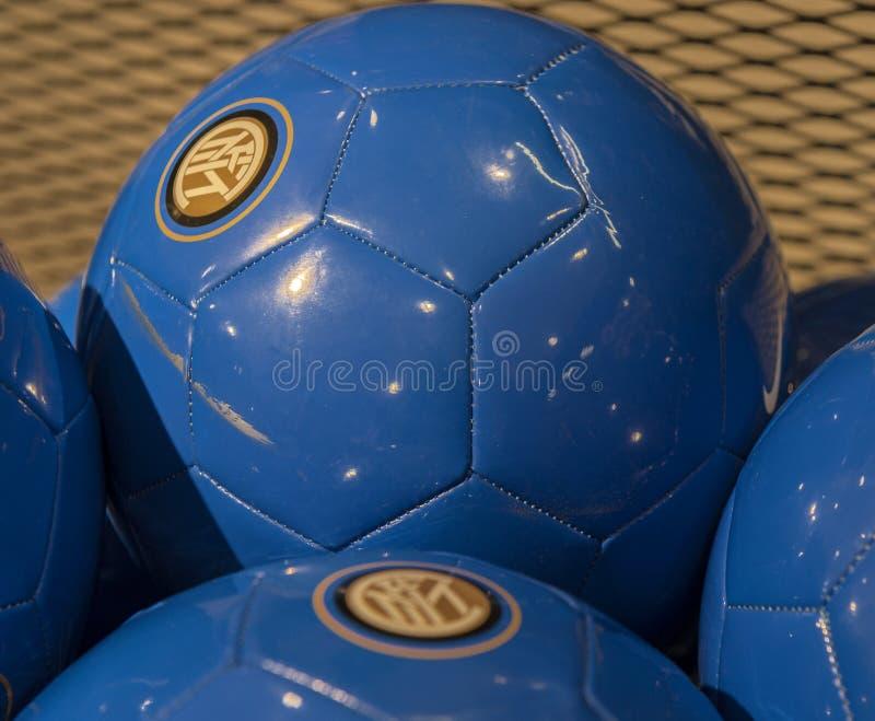 FC-inter-bollar arkivbilder