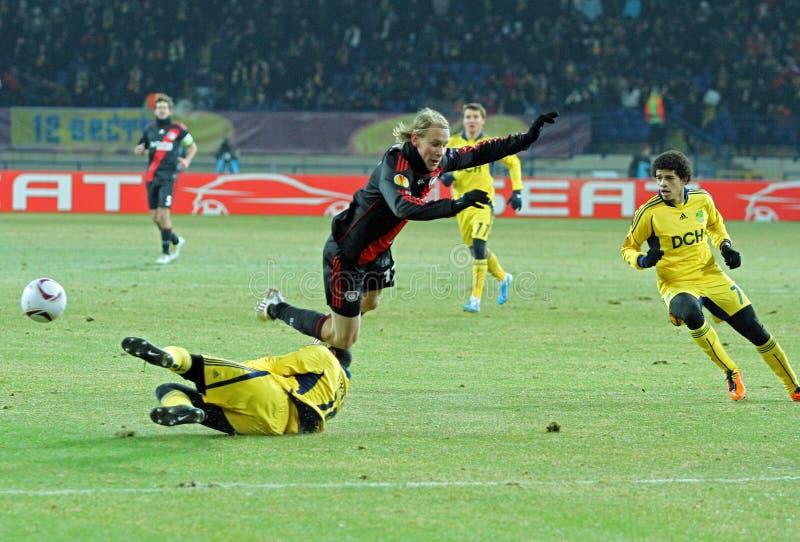 Download FC Metalist Kharkiv - Bayer 04 Leverkusen Editorial Photo - Image of green, europa: 19192901