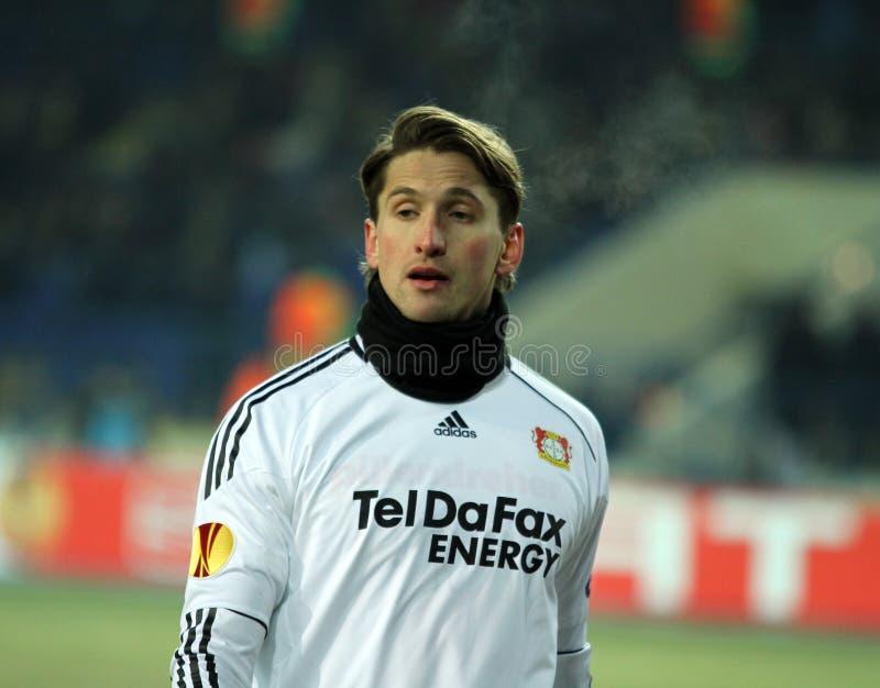 FC Metalist Kharkiv - Bayer 04 Leverkusen stockfoto
