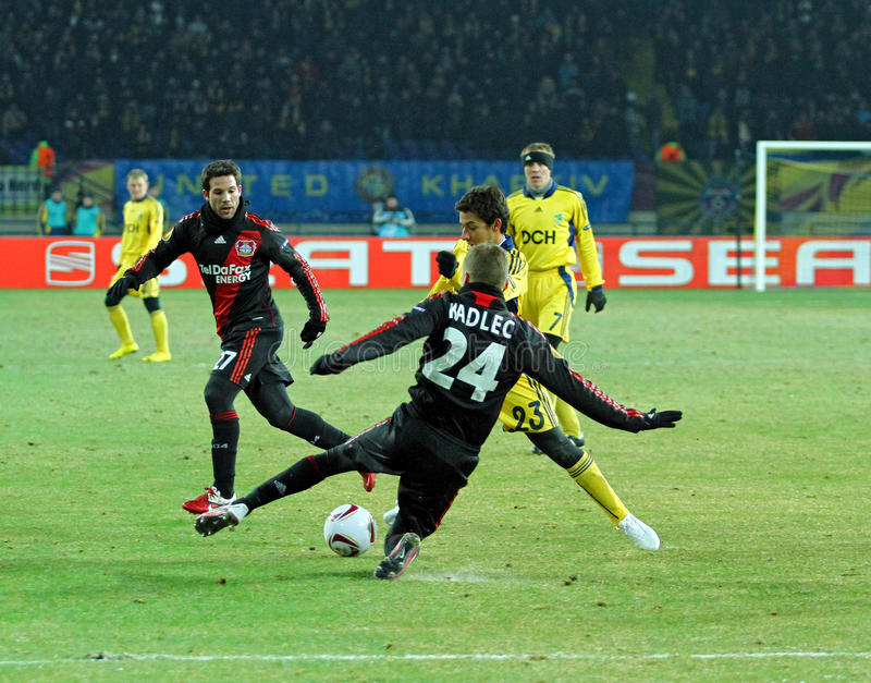 Download FC Metalist Kharkiv - Bayer 04 Leverkusen Editorial Image - Image: 19193855