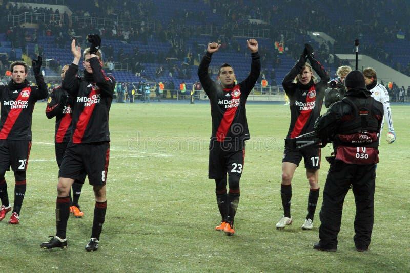 Download FC Metalist Kharkiv - Bayer 04 Leverkusen Editorial Photo - Image: 21461721