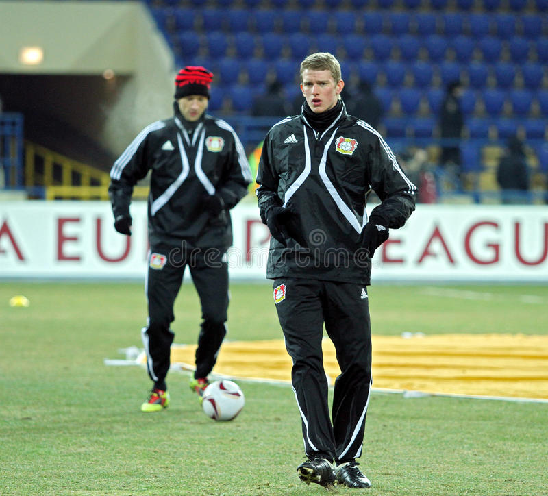 Download FC Metalist Kharkiv - Bayer 04 Leverkusen Editorial Stock Image - Image: 21461754