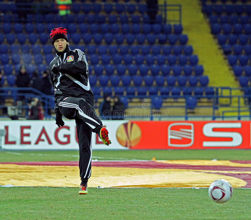 Download FC Metalist Kharkiv - Bayer 04 Leverkusen Editorial Image - Image: 21461755
