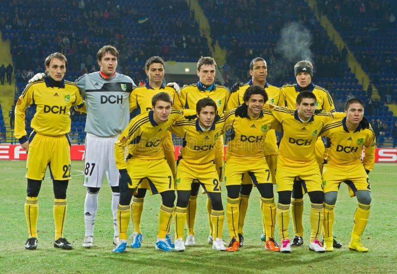 Download FC Metalist Kharkiv - Bayer 04 Leverkusen Editorial Photo - Image: 21461791