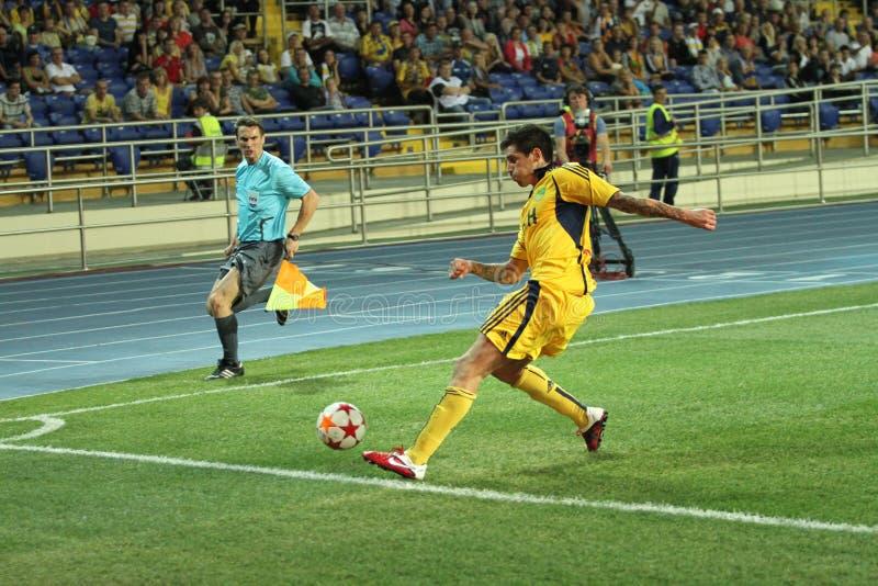 Download FC Metalist Vs PFC Oleksandria Football Match Editorial Stock Photo - Image: 21456223