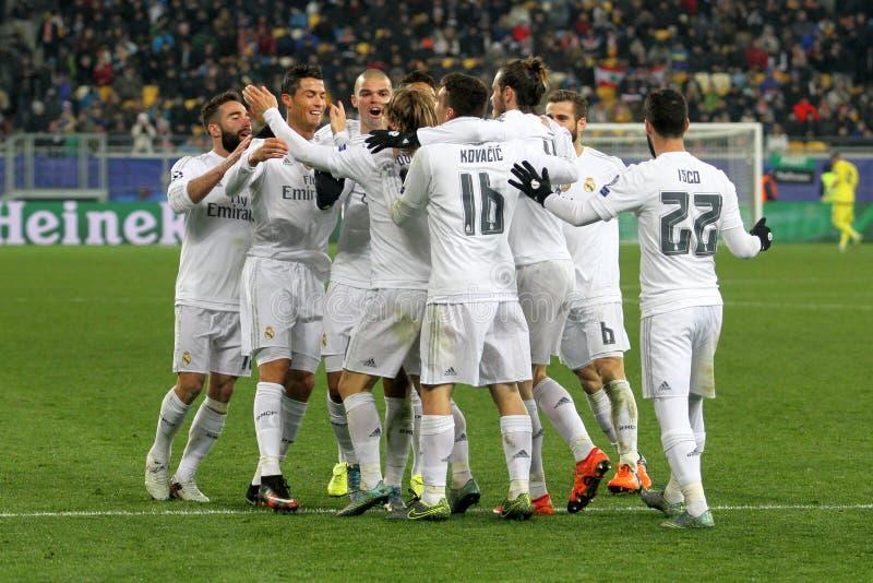 FC Real Madrid zdjęcia royalty free
