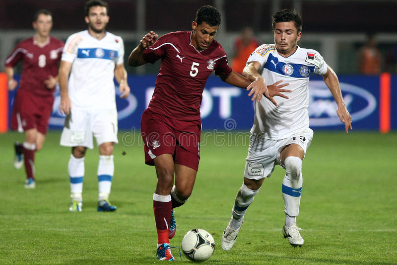 FC schnelles Bucharest - FC Constanta lizenzfreie stockbilder