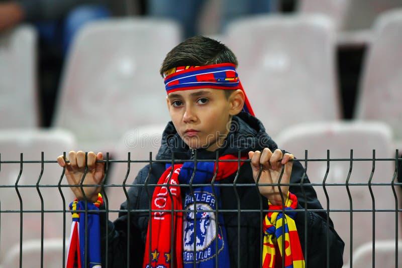 FC Steaua Boekarest - FC Dinamo Boekarest stock afbeeldingen