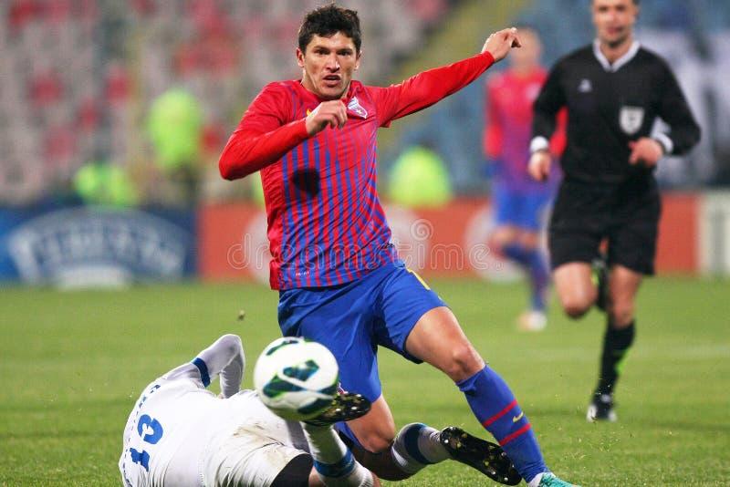 FC Steaua Bucarest - FC Turnu Severin photos stock