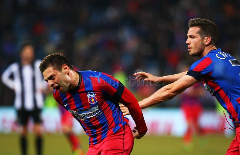 FC Steaua Bucareste - U Cluj fotografia de stock