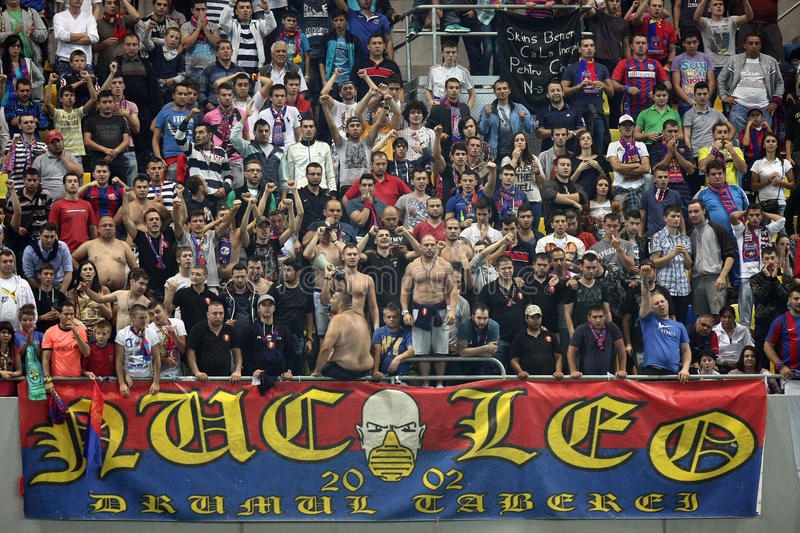Download FC Steaua Bucharest - CFR Cluj Editorial Photography - Image: 28090517
