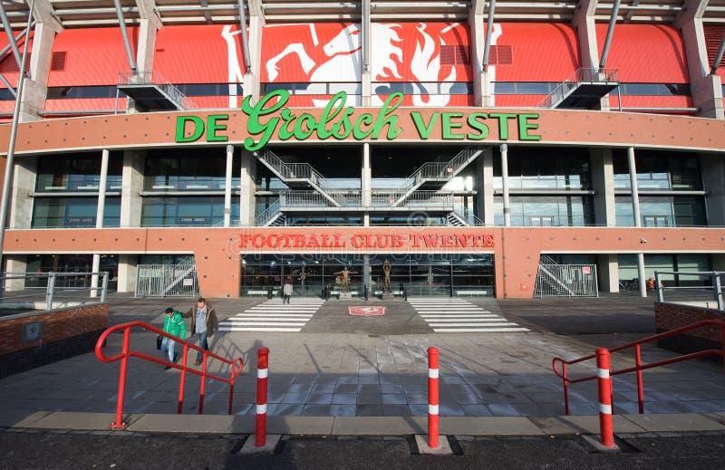 FC Twente del club del fútbol fotografía de archivo libre de regalías