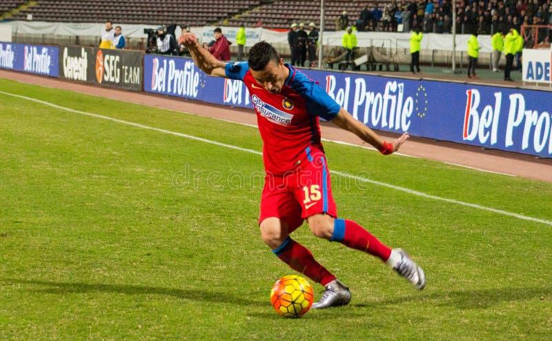 FC Voluntari - Steaua Bucarest fotografie stock libere da diritti