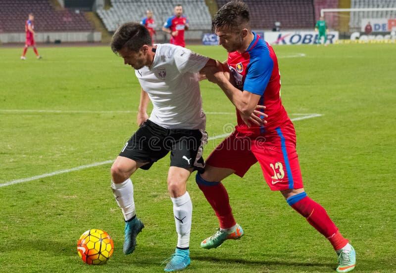 FC Voluntari - Steaua Bucarest fotografia stock libera da diritti