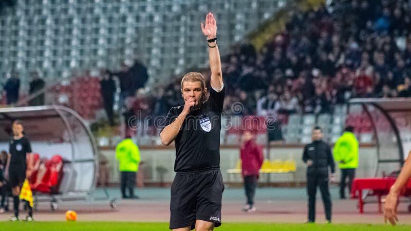 FC Voluntari - Steaua Bucuresti foto de archivo