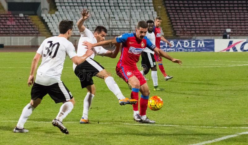 FC Voluntari - Steaua Bucuresti fotos de archivo libres de regalías