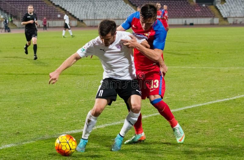 FC Voluntari - Steaua Bucuresti photo stock