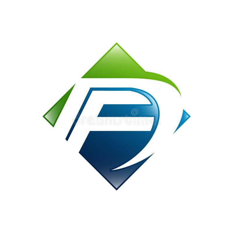 FD σχέδιο λογότυπων επιστολών Φ Δ Δημιουργικό σύγχρονο διανυσματικό εικονίδιο Λ επιστολών διανυσματική απεικόνιση