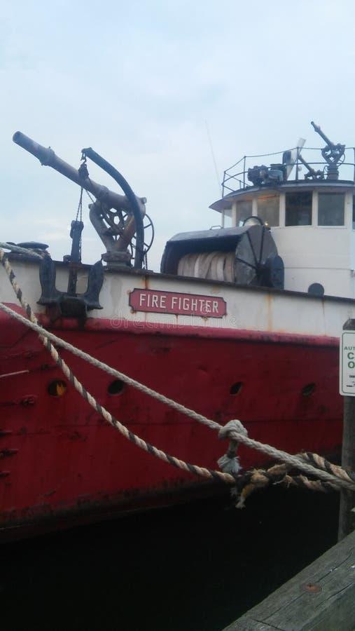 FDNY-Fireboat royaltyfri bild
