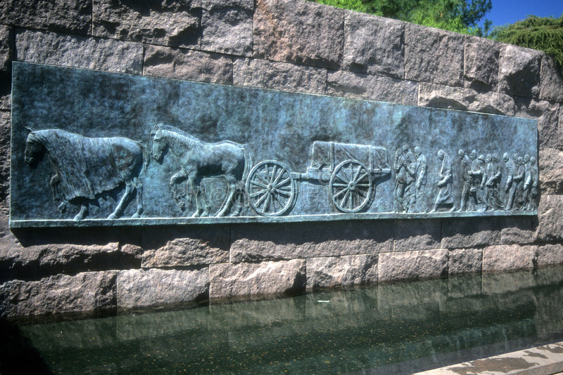 FDR Memorial royalty free stock images