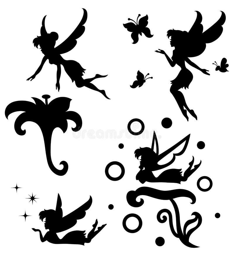 fe vektor illustrationer