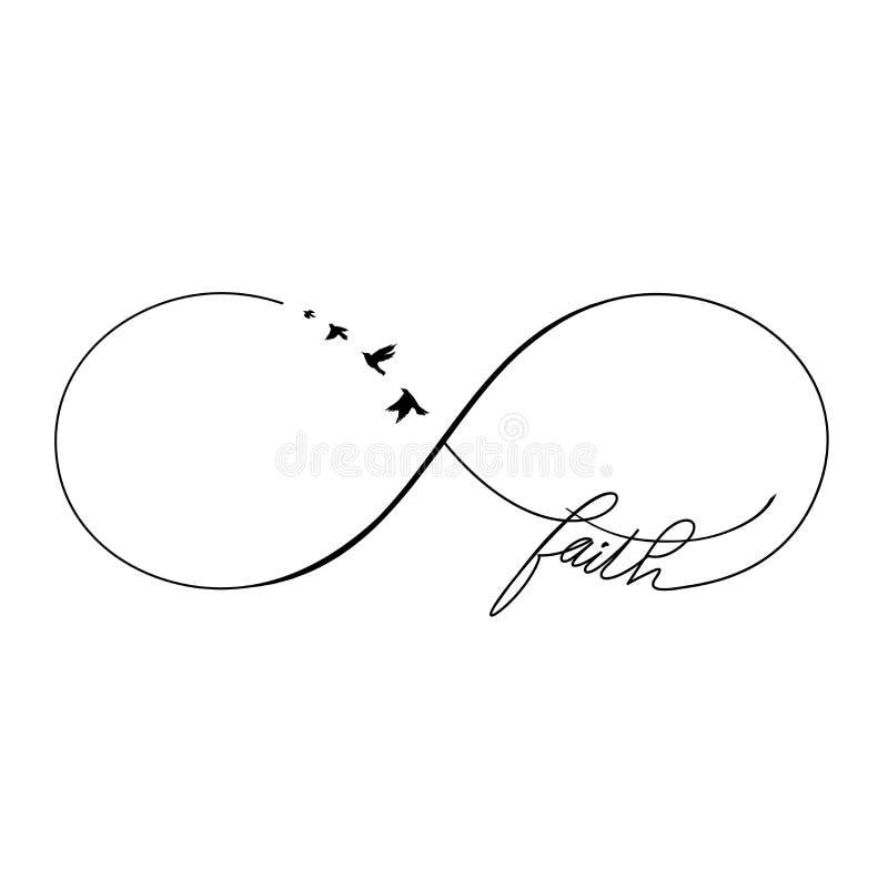 Fe del infinito libre illustration
