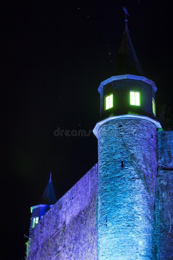 Fe-saga slott arkivbild