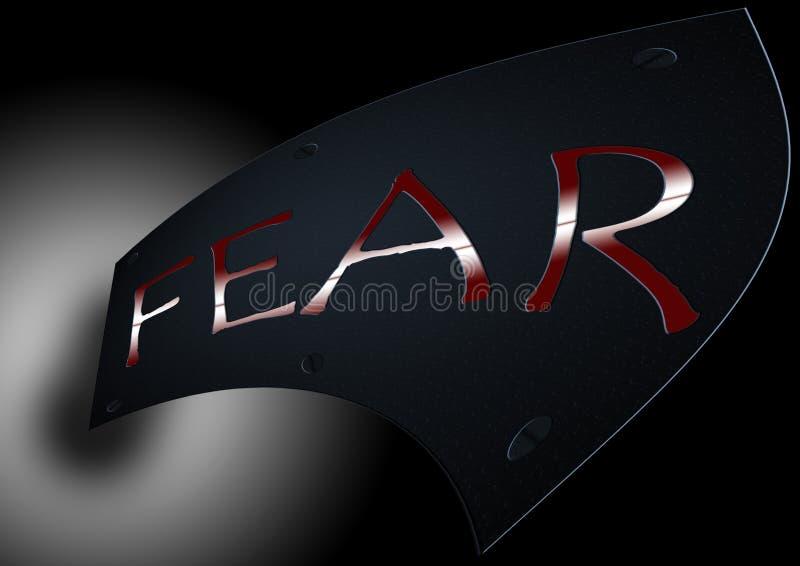 FEAR stock illustration