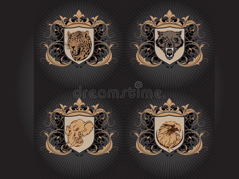 Fear Animals Royalty Free Stock Photography