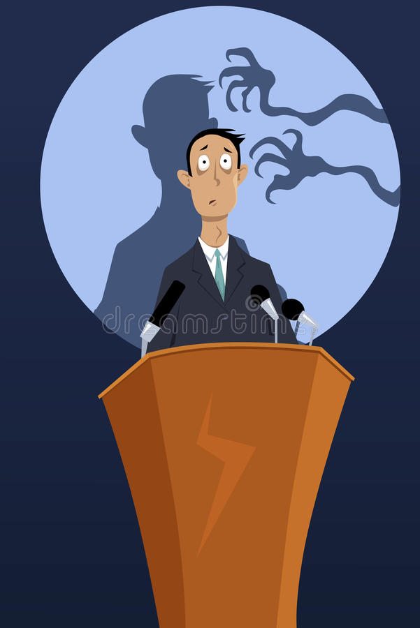 Free Fear Of Public Speaking Royalty Free Stock Images - 70738609