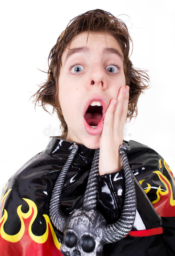 Download Fear Or Surprise Expression Stock Image - Image: 22784137