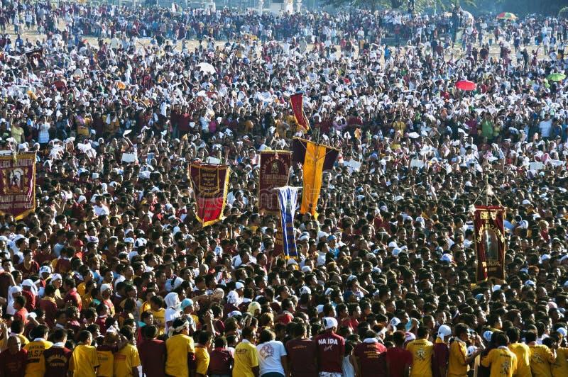 Feast of the Black Nazarene royalty free stock photo