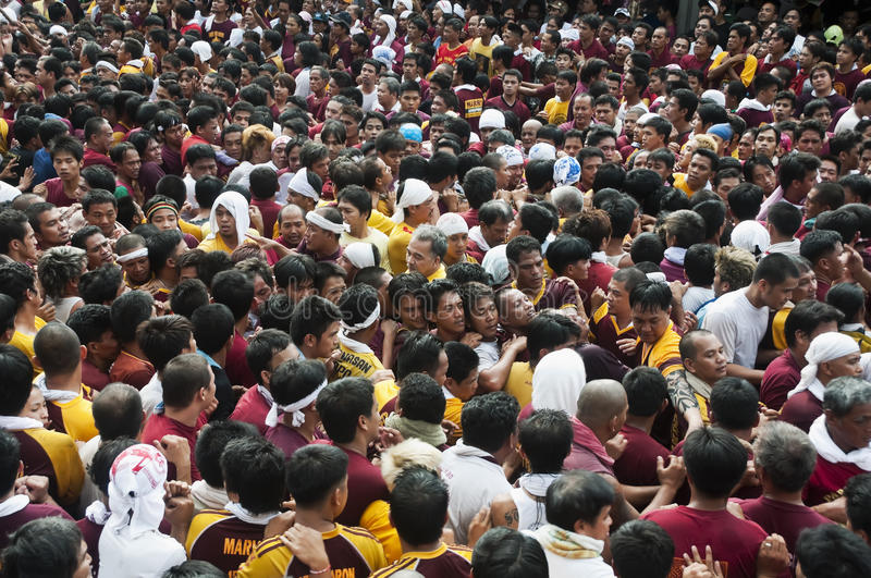 Feast Of The Black Nazarene Editorial Image