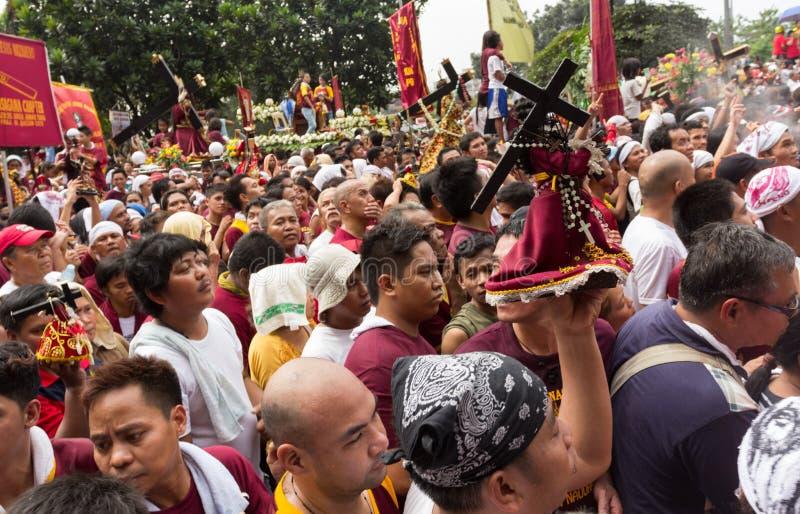 Feast Of Black Nazarene In Manila, Philippines Editorial Stock Photo
