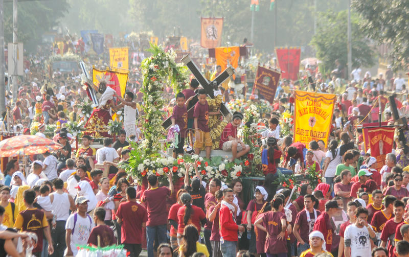 Download Feast Of Black Nazareno, Philippines Editorial Image - Image of philippines, faith: 36598035