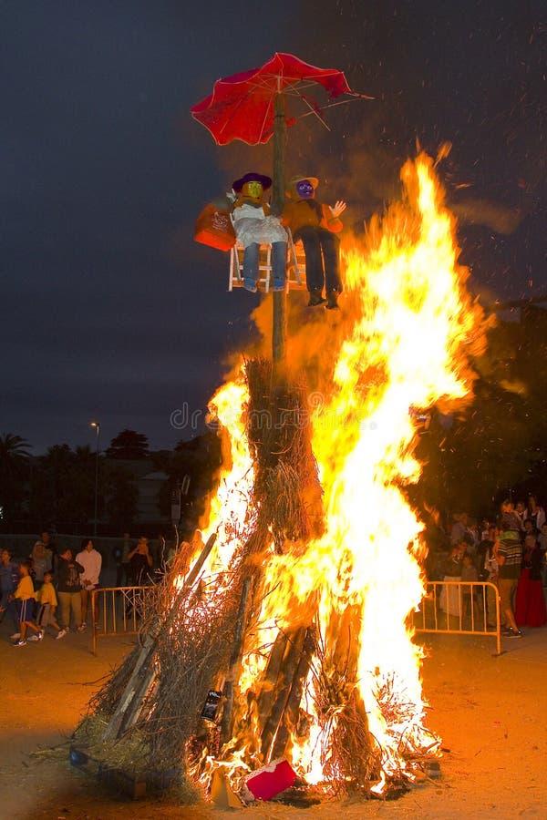 Free Feast Of San Juan In Spain Royalty Free Stock Image - 31802016