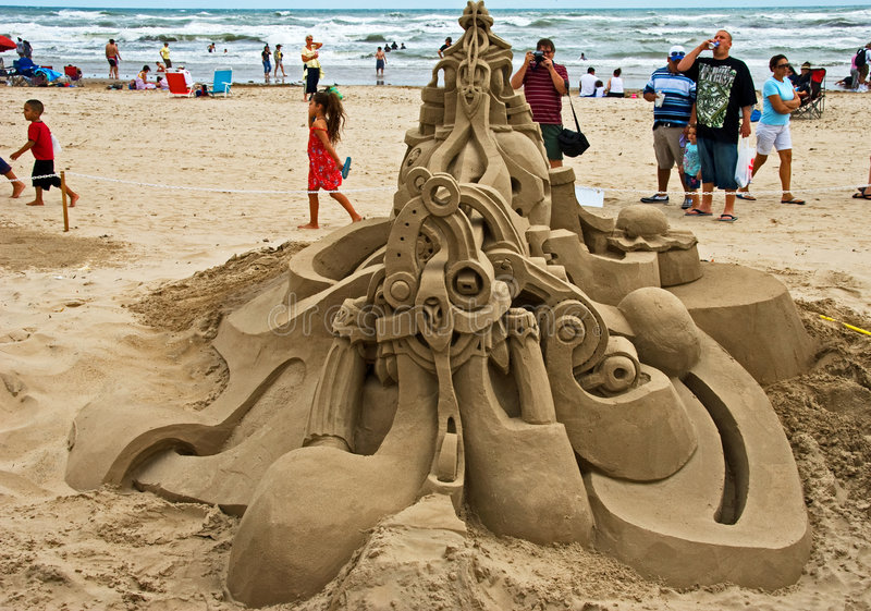 Download A feast on Sand Castle Day editorial stock photo. Image of food - 6806833