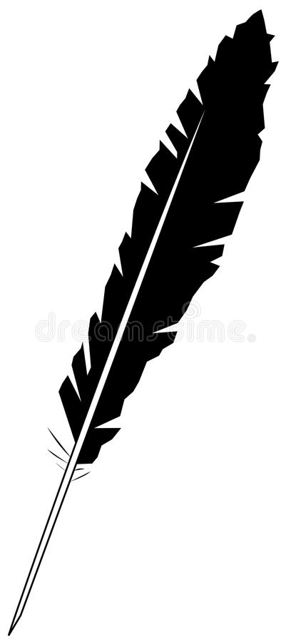 Download Feather stock vector. Image of object, painted, elegance - 15279171