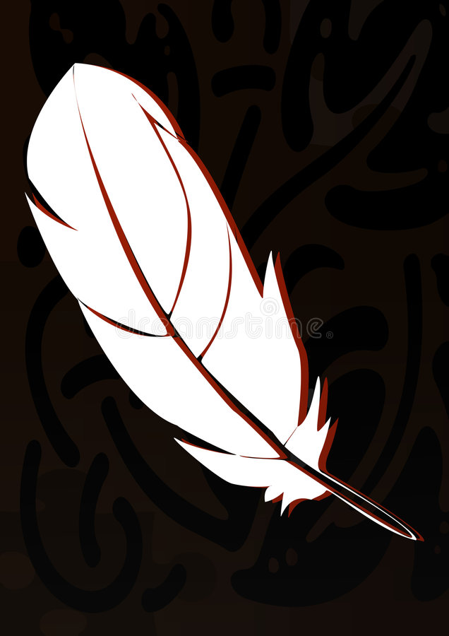 Download Feather stock illustration. Image of bird, nature, wallpaper - 7939241