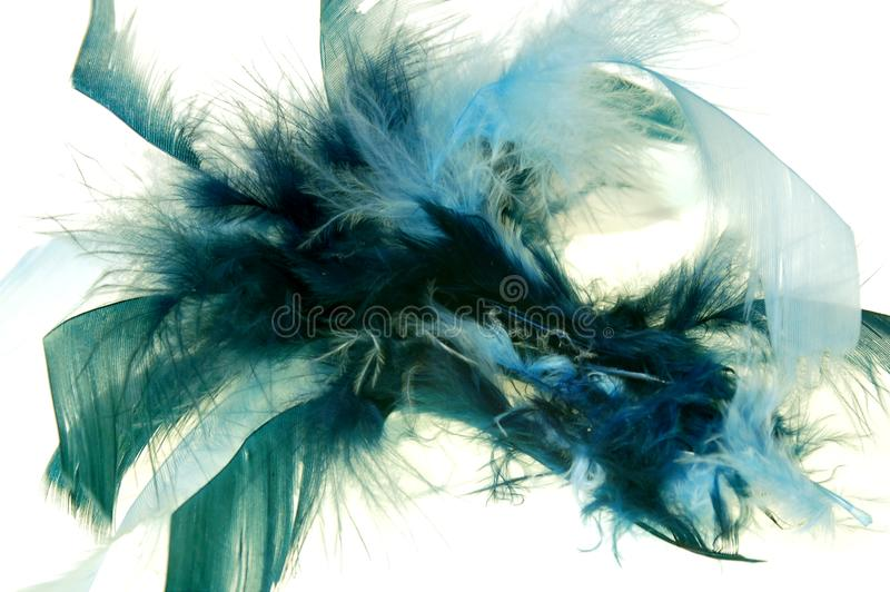 Feather abstract #3 stock image