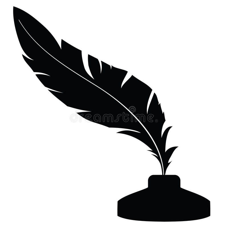 Free Feather With Ink 1 Royalty Free Stock Images - 40770089
