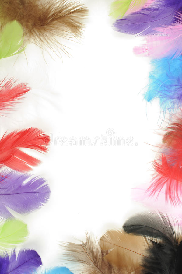 Download Feathers frame stock photo. Image of artistic, effect - 28136968