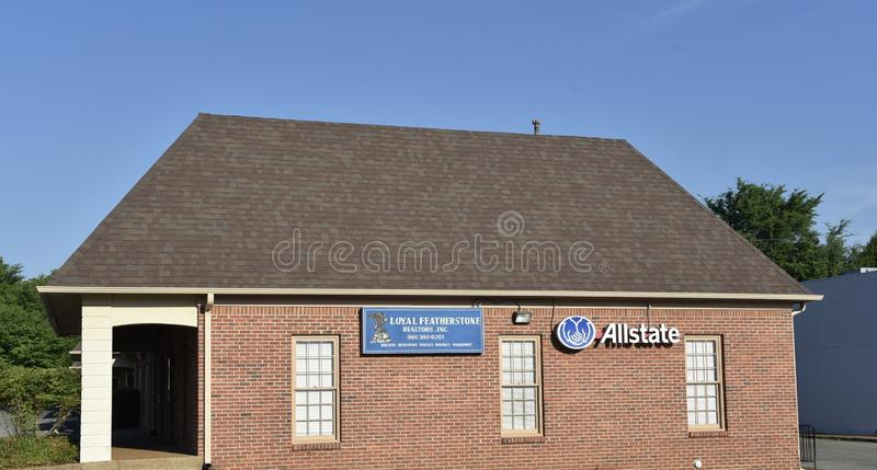 Featherstone fast egendom, Memphis, TN royaltyfria foton